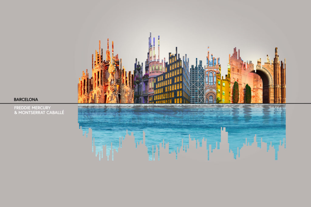 , Major Cities and the Music They Inspire: Illustrated as Sound Wave